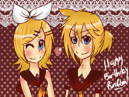 5 years of Kagamine by Mel-Desu