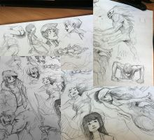 Some sketches by ZeroCartin