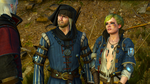Vernon Roche and Ves (Vesemir's Funeral) by Vollhov