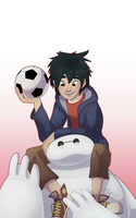 Hiro and Baymax by Nemo-7