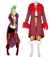 One Piece Bartolomeo Cosplay Costume by cosgalaxy