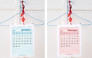 Printable 2012 Calendar by ClementineCreative