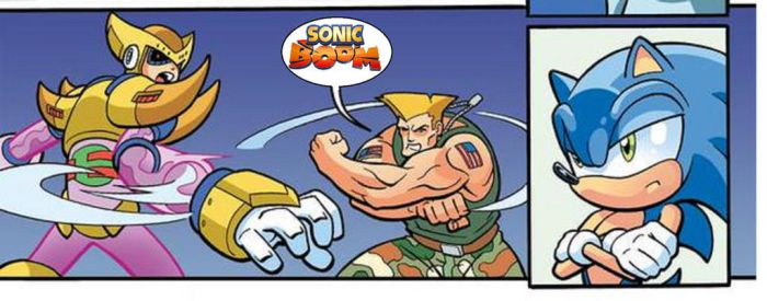 Guile's Sonic Boom, now with Logo! by YoshiAngemon