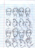 Character Sketches by burdge