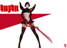 Fan art kill la kill ryuko by botslim