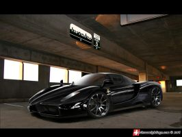 Ferrari Enzo by blackdoggdesign