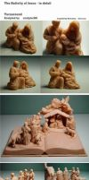 The Nativity of Jesus - Details by sculptor101