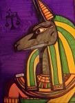 Anubis Altar Art by LadyIonia