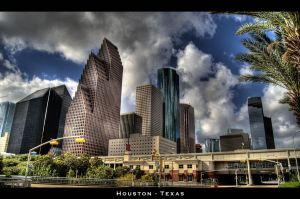 Downtown Houston HDR by nat1874