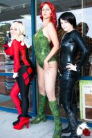 Gotham City Sirens by LadyofSparda