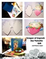 Valentines style League of Legends by JamilSC11