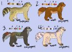 Auran Adoptable Sheet 1 (1 STILL OPEN) by ThisLittleBluebird