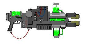 Sci-fi Plasma Gun by Sbags
