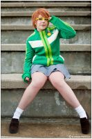 Persona: Damage Stairs by CosplayerWithCamera