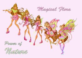 Winx - Magical Flora by TanjaGirl