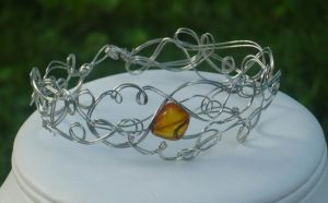Trapped Amber Bracelet by shadowling