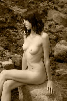 Cassie 13 sepia by andyf451