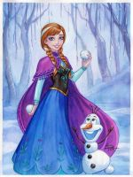 Anna Frozen by Sabinerich