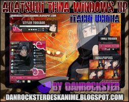Itachi Theme Windows XP by Danrockster