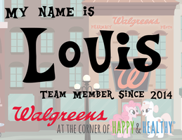 My Little Walgreens Nametag by DrZurnPhD