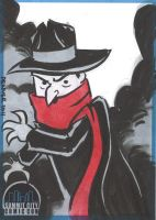 The Shadow Sketch Card by thecheckeredman