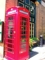 telephone booth by brittanyxm0