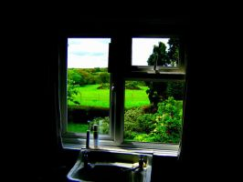 bathroom with a view by TomBydand