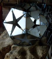 Dodechahedron welding project by fairyfrog