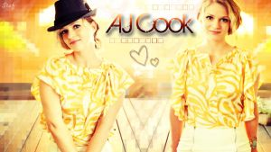 AJ Cook Wallpaper by go4music