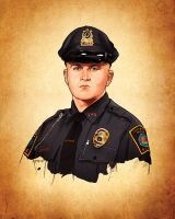 Officer Sean Collier by Joey-Zero