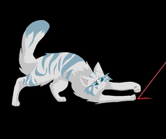 Silverstream sees a red dot by prussiawashere999