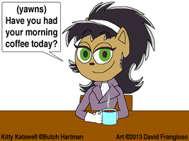 Kitty Katswell's Morning Coffee by tpirman1982