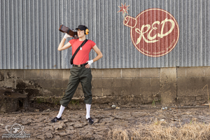 Choose Your Character - TF2 Scout Cosplay by ElvisDitto