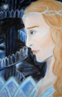 Galadriel, the lady of Lothlorien by Jedi-Anakin