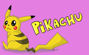 Pikachu by issabissabel