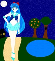 Sailor Star on an evening walk by UltimateAlexandra1