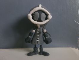Blind Clay Model by FierceTheBandit