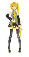 DT 2nd Akita Neru by MMD-francis-co