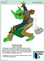 30 Characters day12- Kindleshanks by PlummyPress