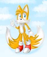 Tails The Fox by GhostKoMochi