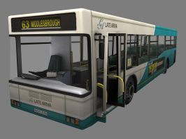 Bus Exterior - High Res by NowIn3D