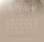 Britney Spears - Glory ( Font + Style) by RADIANTWH0R3