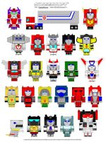 Cubeecraft - G1 Autobots by CyberDrone