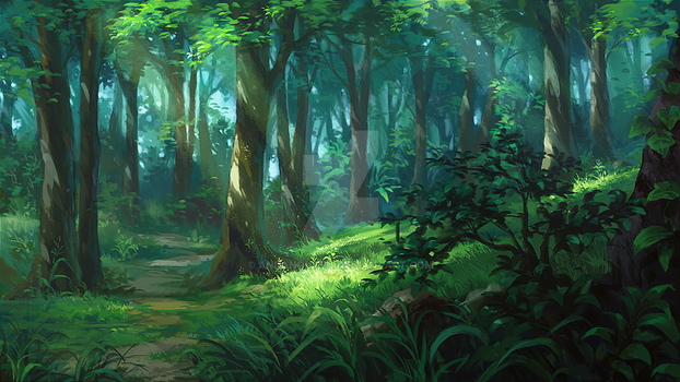 Forest by andanguyen