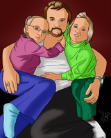 Tom and His Girls by kkskipper