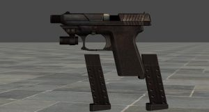 Re6 Wing Shooter (Leon's handgun) by zeushk