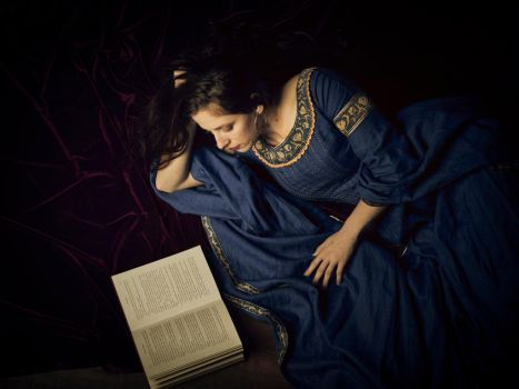 Medieval Blue 3 by Anariel-Stock