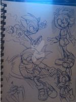 Sonic Boom warm-up by ThePandamis