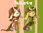 Peikos Adoptables :OPEN: by MissMignonne