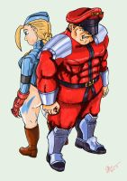 Back to back by Shadaloo1989